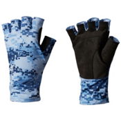 Columbia PFG Freezer Zero Fingerless Paddling Gloves 2017, White Cap-Digi Scale Camo, medium