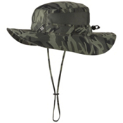 Columbia PFG Bora Bora Print Booney Hat, Gravel Camo, medium