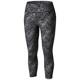 Columbia Trail Bound Capri Tight Womens Pants, Black Chevron Fractile, 256