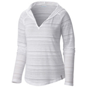 Columbia Inner Luminosity Womens Hoodie, White, medium