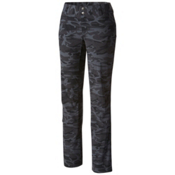 Columbia Saturday Trail Printed Womens Pants, Black Camo, medium