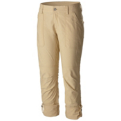 Columbia Pilsner Peak Capri Womens Pants, Lion-Oxford, medium