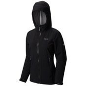 Mountain Hardwear Stretch Ozonic Womens Jacket, Black, medium