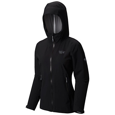 Mountain Hardwear Stretch Ozonic Womens Jacket, Black, viewer