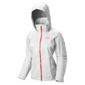 Mountain Hardwear Plasmic Ion Womens Jacket, White, medium