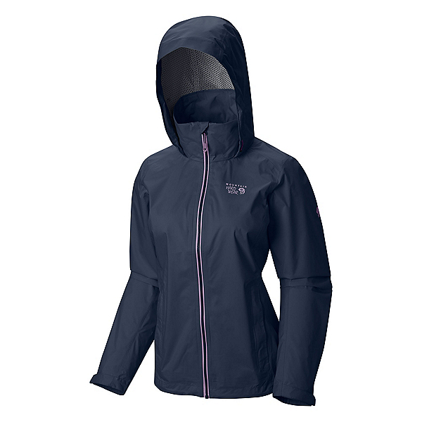 Mountain Hardwear Plasmic Ion Womens Jacket, Zinc-Phantom Purple, 600