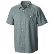 Mountain Hardwear Drummond S/S Mens Shirt, Dark Forest, medium