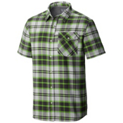 Mountain Hardwear Drummond S/S Mens Shirt, Cyber Green, medium