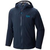 Mountain Hardwear Stretch Ozonic Mens Jacket, Hardwear Navy, medium