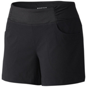 Mountain Hardwear Dynama 4 Inch Womens Shorts, Black, medium