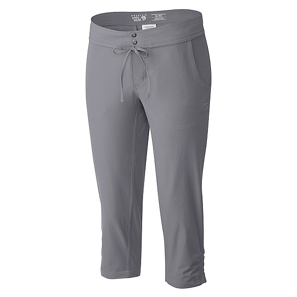 Mountain Hardwear Yuma Capri Womens Pants, Steam, 600