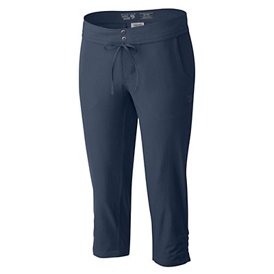 Mountain Hardwear Yuma Capri Womens Pants, Steam, viewer