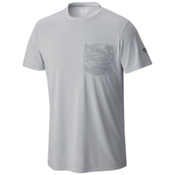 Mountain Hardwear River Gorge S/S Crew Mens Shirt, Grey Ice, medium