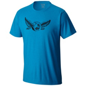 Mountain Hardwear Nut Up S/S Mens T-Shirt, Heather Dark Compass, medium