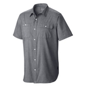 Mountain Hardwear Drummond Utility S/S Mens Shirt, Black, medium