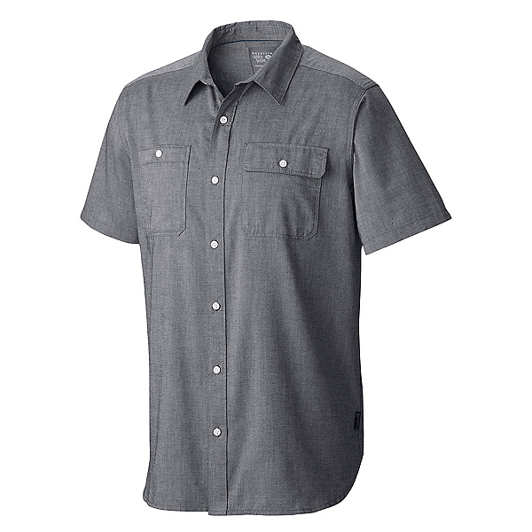 Mountain Hardwear Drummond Utility S/S Mens Shirt, Black, 600