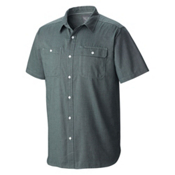Mountain Hardwear Drummond Utility S/S Shirt, Ice Shadow, medium
