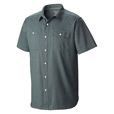 Mountain Hardwear Drummond Utility S/S Mens Shirt, Black, viewer