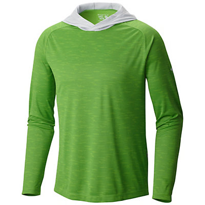 Mountain Hardwear River Gorge L/S Hoodie, Cyber Green, viewer