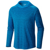 Mountain Hardwear River Gorge L/S Hoodie, Dark Compass, medium