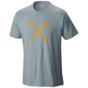 Mountain Hardwear Mountain Mechanic S/S T-Shirt, Heather Ice Shadow, medium