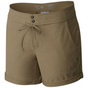Mountain Hardwear New Yuma 7 Inch Womens Shorts, Khaki, medium