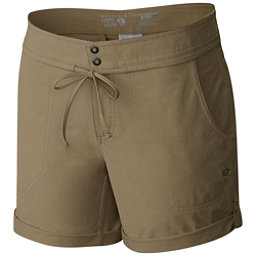 Mountain Hardwear New Yuma 7 Inch Womens Shorts, Khaki, 256