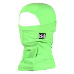 BlackStrap The Hood Solid Balaclava, Bright Green, 256