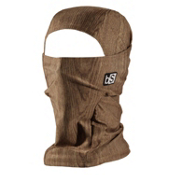 BlackStrap Hood Prints Balaclava, Woodgrain, medium