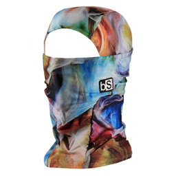 BlackStrap Hood Prints Balaclava, Smoke, 256