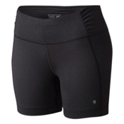 Mountain Hardwear Mighty Activa Womens Shorts, Black, medium