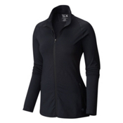 Mountain Hardwear Butterlicious Full Zip Womens Jacket, Black, medium
