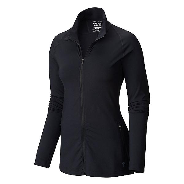 Mountain Hardwear Butterlicious Full Zip Womens Jacket, Black, 600