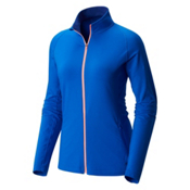 Mountain Hardwear Butterlicious Full Zip Womens Jacket, Bright Island Blue, medium