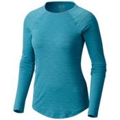 Mountain Hardwear Mighty Stripe Long Sleeve Womens Shirt, Shasta, medium