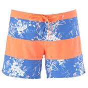 Hurley Phantom Printed Beachrider Womens Board Shorts, Hyper Cobalt, medium