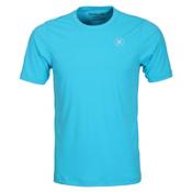 Hurley Dri-Fit Icon SS Surf Shirt Mens Rash Guard, Beta Blue, medium