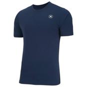 Hurley Dri-Fit Icon SS Surf Shirt Mens Rash Guard, Midnight Navy, medium