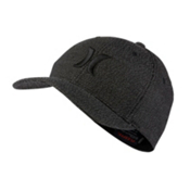 Hurley Black Suits Hat, Black Speck, medium