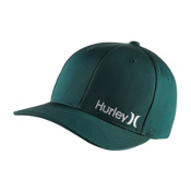 Hurley Dri-Fit Corp Hat, Dark Emerald, medium