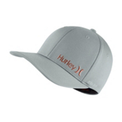 Hurley Dri-Fit Corp Hat, Wolf Grey, medium