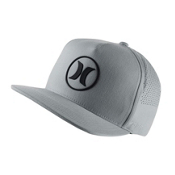 Hurley Dri-Fit Icon 2.0 Hat, Cool Grey, medium