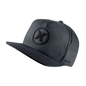 Hurley Dri-Fit Icon 2.0 Hat, Black, medium