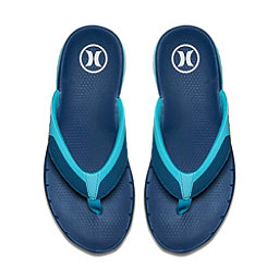 Hurley Phantom Free Mens Flip Flops, Court Blue, 256