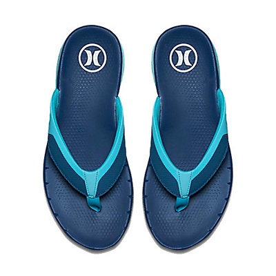 Hurley Phantom Free Mens Flip Flops, Court Blue, viewer