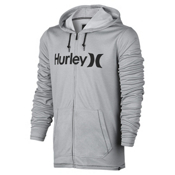 Hurley Dri-Fit Lake Street Hoodie, Wolf Grey, medium