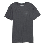 Hurley Staple Tri-Blend T-Shirt, Grey-Black, medium