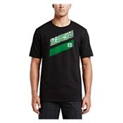 Hurley O Hurley T-Shirt, Black A, medium