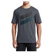 Hurley Icon Splash Push Through T-Shirt, Heather Black 3, medium