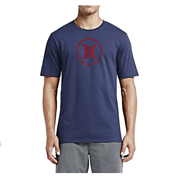 Hurley Circle Icon Dri-Fit Mens T-Shirt, , 600